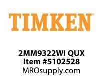 TIMKEN 2MM9322WI QUX Ball P4S Super Precision