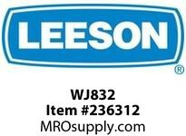LEESON WJ832 MOD - J MOUNT FOR 832 SERIES - WASHGUARD