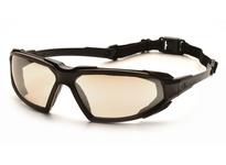 Pyramex SBB5080DT Black Frame/Indoor/Outdoor Mirror Anti-Fog Lens