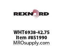 REXNORD WHT6938-42.75 WHT6938-42.75 WHT6938 42 INCH WIDE MATTOP CHAIN W