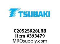 US Tsubaki C2052SK28LRB C2052 RIV 8L/SK-2