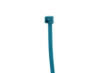 NSI 750-20 7.5^ FLUORSCENT BLUE TIE 50LB MIN. TENSILE STRENGTH