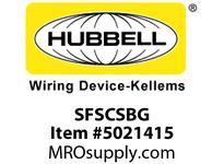 HBL_WDK SFSCSBG FIBER SNAP-FITSC SMPLXBLZIRCGY