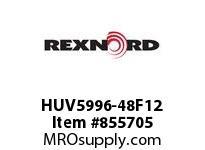 REXNORD HUV5996-48F12 HUV5996-48 F4 T12P HUV5996 48 INCH WIDE MATTOP CHAIN W