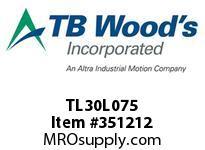 TBWOODS TL30L075 TL30L075 1610 TIM PULLEY