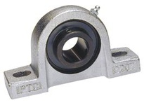 IPTCI Bearing BUCNPP211-35 BORE DIAMETER: 2 3/16 INCH HOUSING: PILLOW BLOCK HOUSING MATERIAL: NICKEL PLATED