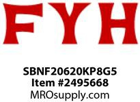 FYH SBNF20620KP8G5 4 BOLT FLANGE 1 1/4in BORE NARROW INNER RING