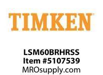 TIMKEN LSM60BRHRSS Split CRB Housed Unit Assembly