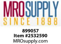 MRO 899057 3 SOCKET SCH 80 PVC BALL VALVE