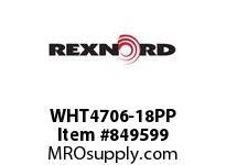 REXNORD WHT4706-18PP WHT4706-18 PP ROD WHT4706 18 INCH WIDE MATTOP CHAIN W