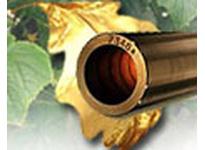 BUNTING B954C022032-IN 2 - 3/4 x 4 x 1 C95400 Cast Bronze Tube Bar C95400 Cast Bronze Tube Bar