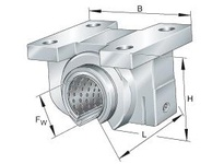 INA PAGBAO4080PPAS Linear plain bearing unit