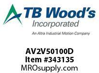 TBWOODS AV2V50100D 10HP 575V 3PH AQUAVAR II CT