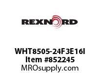 REXNORD WHT8505-24F3E16I WHT8505-24 F3 T16P N2 WHT8505 24 INCH WIDE MATTOP CHAIN W