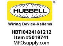 HBL_WDK HBTI0424181212 WBPFM RAD INTER4^Hx24^Wx18^Wx12^Wx12^W
