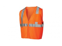 Pyramex RVZ2120FRL Hi-Vis Orange - Flame Retardant - Size Large