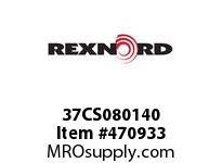 REXNORD 138849 37CS080140 37CS 1/4-NOX7/16-NO
