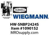 WIEGMANN HW-SNBP2424S BK PANELCSWHITE20.88X21.38