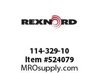 REXNORD 114-329-10 KU820-41T 30MM IDLER NYL 142379