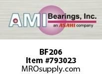 AMI BF206 30MM NARROW SET SCREW 4-BOLT FLANGE BEARING