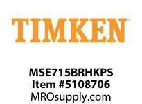 TIMKEN MSE715BRHKPS Split CRB Housed Unit Assembly