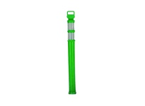 "Cortina 03-747FG 45"" EZ Grab Flared Forest Green Post - (2)3"" High Intensity Prismatic Collars"