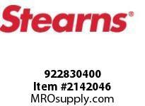 STEARNS 922830400 SS CP #10-32 X 1/4 STL/NY 8059789