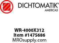 Dichtomatik WR-4000X312 WEAR RING 40 PERCENT GLASS FILLED NYLON WEAR RING
