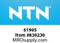 NTN 61905 Extra Small/Small Ball Bearing