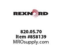 REXNORD 820.05.70 FORTREX 9217-213 FORTREX 9217-213 304 STAINLESS STE