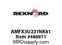 AMFX3U231NK81 FLANG BLK AMFX3-U231NK81 5828758