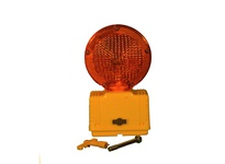 Cortina 03-10-3WAY6V Incandescent Amber Bi-Directional w/photocell 3-Way Switch Yellow Housing/Base [uses (2)6-Volt Batteries (not included)]