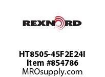 REXNORD HT8505-45F2E24I HT8505-45 F2 T24P N3 HT8505 45 INCH WIDE MATTOP CHAIN WI