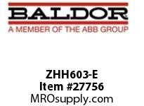BALDOR ZHH603-E H2V 120/240AC 1PH 3HP