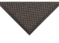 NoTrax 145S0034CH 145 Preference 3X4 Charcoal Preference has a dual fiber surface of scraping and looped pile drying yarns in a mini checked pattern to absorb moisture and scrape dirt and debris from foot traffic. Color combinations blend l