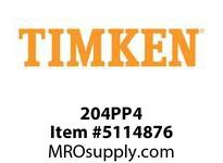 TIMKEN 204PP4 Ball Deep Groove Radial <12 OD