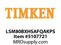 TIMKEN LSM80BXHSAFQAKPS Split CRB Housed Unit Assembly