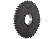 40SDS54 Roller Chain Sprocket QD Bushed