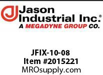 Jason JFIX-10-08 JIC 37* FEM SWIVEL DBL HEX