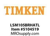 TIMKEN LSM105BRHATL Split CRB Housed Unit Assembly