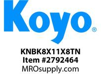 Koyo Bearing K8X11X8TN NEEDLE ROLLER BEARING
