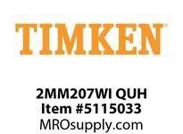 TIMKEN 2MM207WI QUH Ball P4S Super Precision