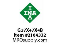 INA G37X47X4B Seal single lip