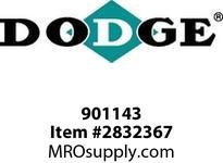 DODGE 901143 TA1107H ABS SPLIT END COVER ASSY GEAR PRODUCTS