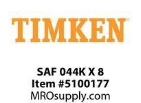 TIMKEN SAF 044K X 8 SRB Pillow Block Housing Only