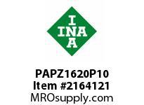 INA PAPZ1620P10 Plain bearing