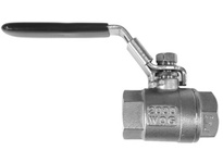 MRO 949171 1/4 2000# FULL PORT SS BALL VALVE