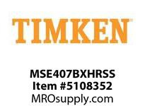 TIMKEN MSE407BXHRSS Split CRB Housed Unit Assembly
