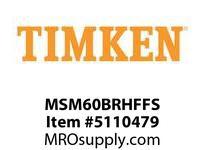 TIMKEN MSM60BRHFFS Split CRB Housed Unit Assembly
