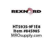 REXNORD HT5935-9F1E8 HT5935-9 F1 T8P N1.5 HT5935 9 INCH WIDE MATTOP CHAIN WIT